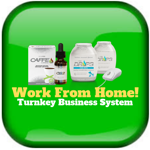 This powerful Turnkey Business Sysytem gives you all these business-building goodies all year long: Professional, fully functional personal replicated website and back office tracking system to operate your business. Plus Live Customer and Brand Partner Support Department. Live and recorded training from beginner to advanced online and offline.