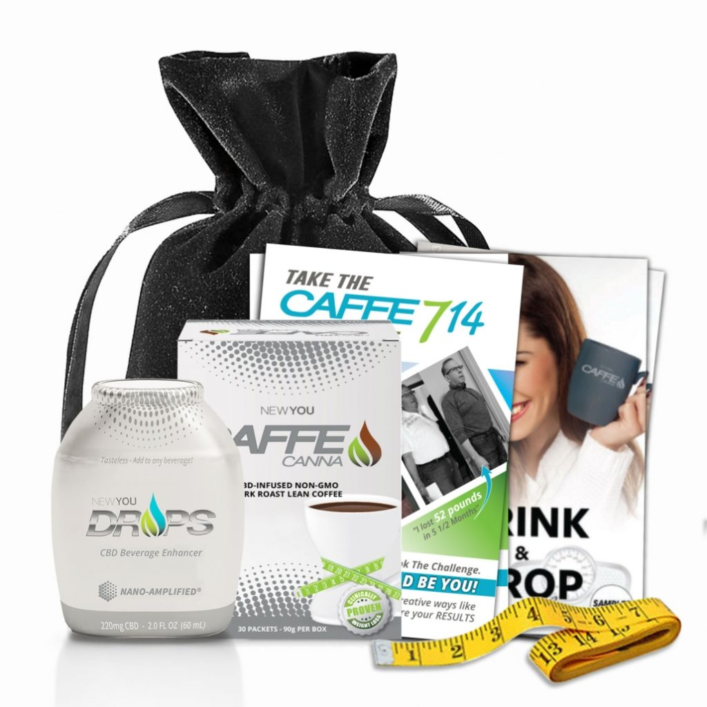 WEIGHT LOSS It's in the Bag! Caffe714 offers the first-ever Nano CBD-infused product combo with targeted and clinically proven weight loss-activating ingredients to help you lose weight faster than ever. APPETITE CONTROL FAT REDUCTION GLYCEMIC CONTROL MOOD BOOSTING STRESS CONTROL