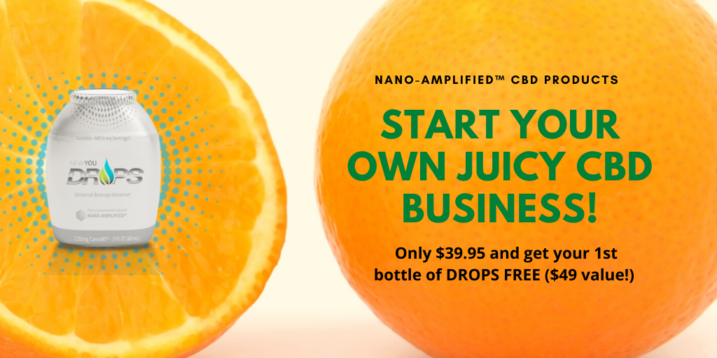Now you can serve CBD Orange Juice Fast and Easy! Just add our CBD drops to fresh squeezed orange juice (or any beverage). Easy product demo. Work From Home Selling Top Quality CBD Products. Free Sales Training, Virtual CBD Storefront, Retail and Wholesale Product, Shopping Cart, Free Drop Shipping, and More!