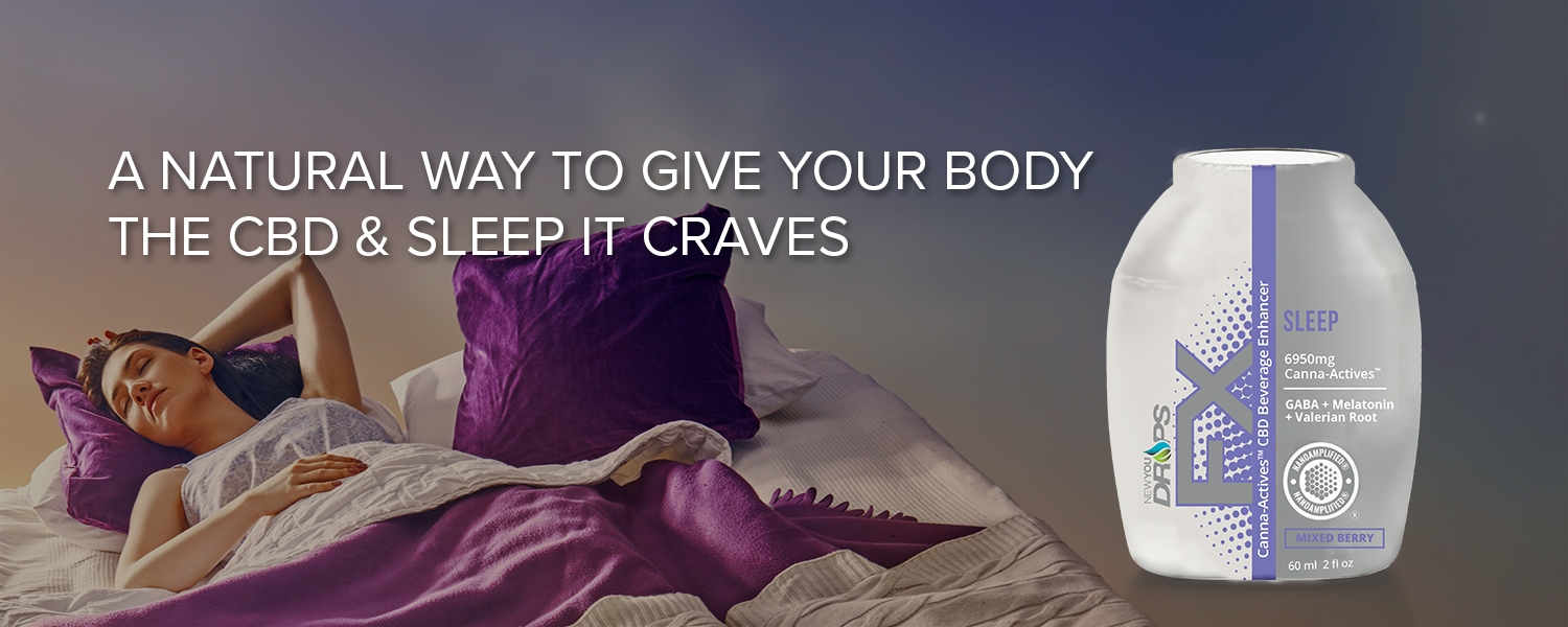 Get the SLEEP you need to wake up refreshed and rested with our proprietary blend of Canna-Actives™ PLUS proven fast-acting sleep aids: GABA, Melatonin, Valerian Root and more. Nano-Amplified®