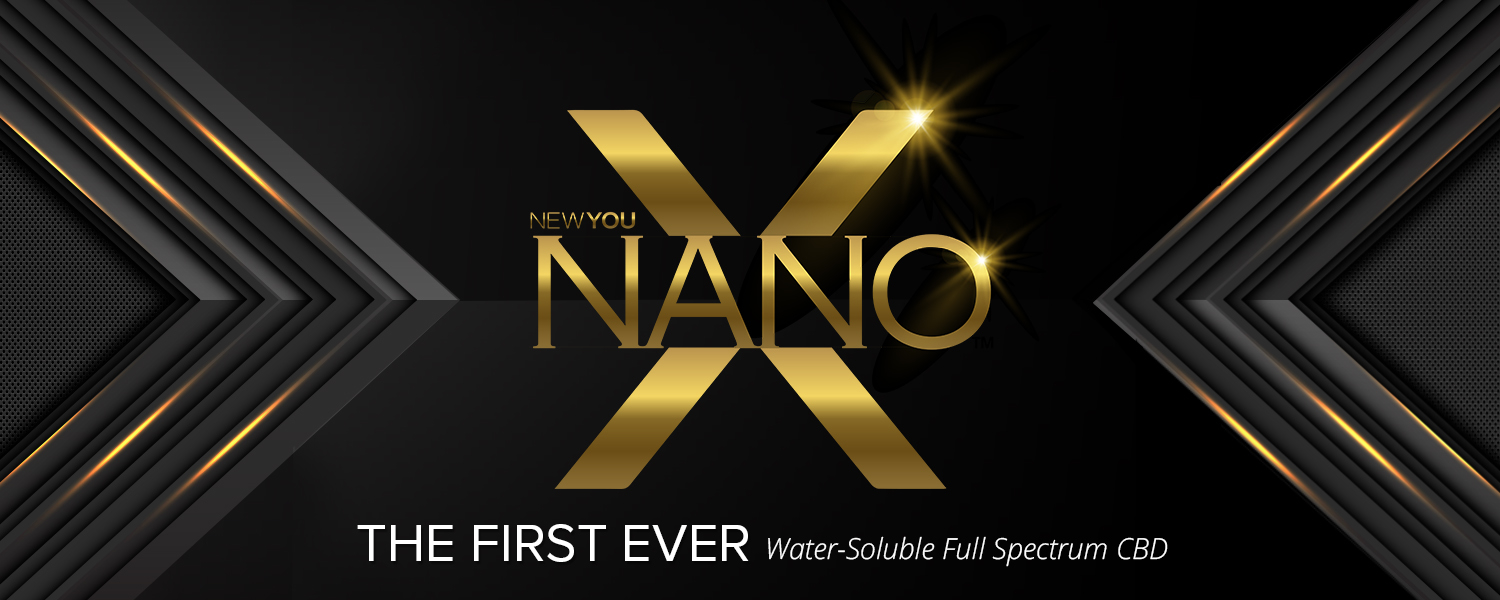 NanoX™ is the first-ever, full spectrum liquid hemp concentrate! This naturally tasty enhancer can be added to any water or beverage for 100x the benefits of traditional hemp tinctures and capsules. Liposomal Smart Cell Technology and 8 proven cellular rejuvenators power this NanoAmplified® water-soluble formula ensuring maximum bioavailability and cellular uptake. CoQ10, MethylB12, Curcumin, and essential hemp phytocannabinoids will supercharge your wellness and reinvigorate your health with effects that begin in just seconds!
